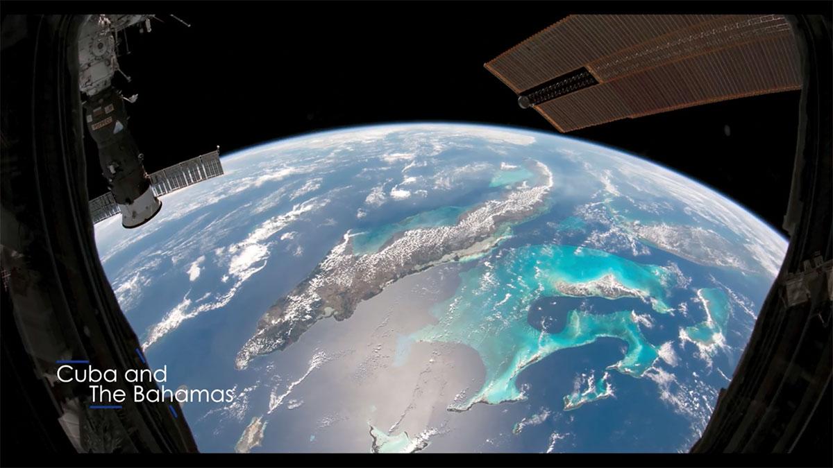 بهترین عکس های زمین از ایستگاه فضایی بین المللی