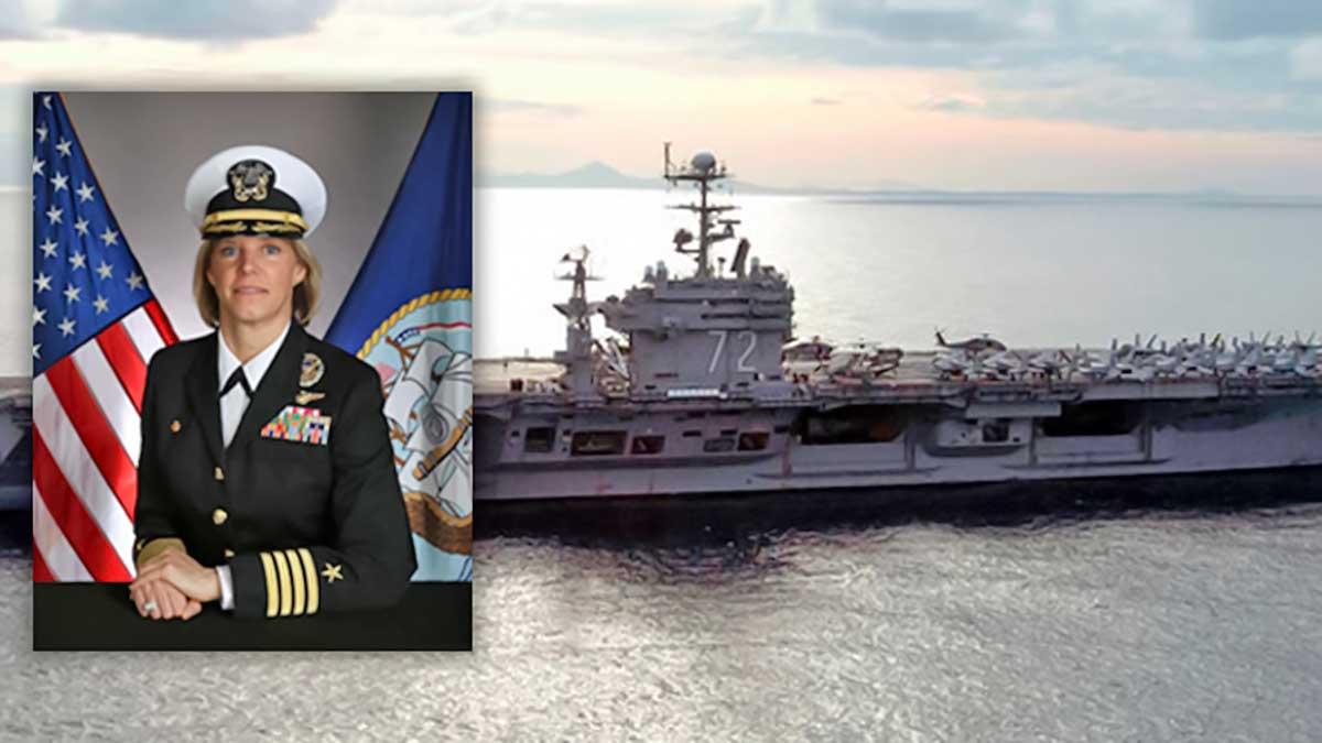 اولین فرمانده زن ناو هواپیمابر امریکا فرماندهی ناو آمریکایی آبراهام لینکلن (CVN 72) را بر عهده گرفت