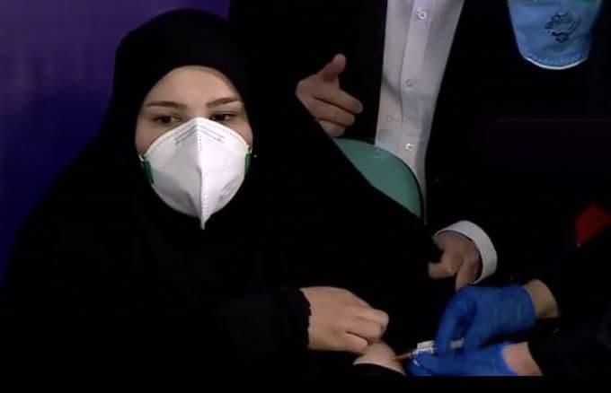 تزریق واکسن ایرانی کرونا