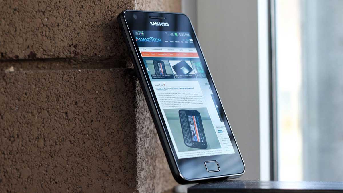 آپدیت اندروید ۱۱ سامسونگ Galaxy S II