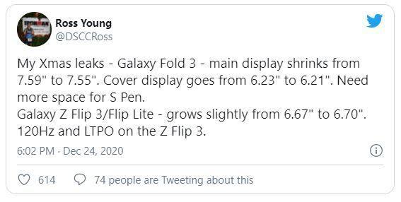 پشتیبانی گلکسی زد فولد ۳ از S Pen