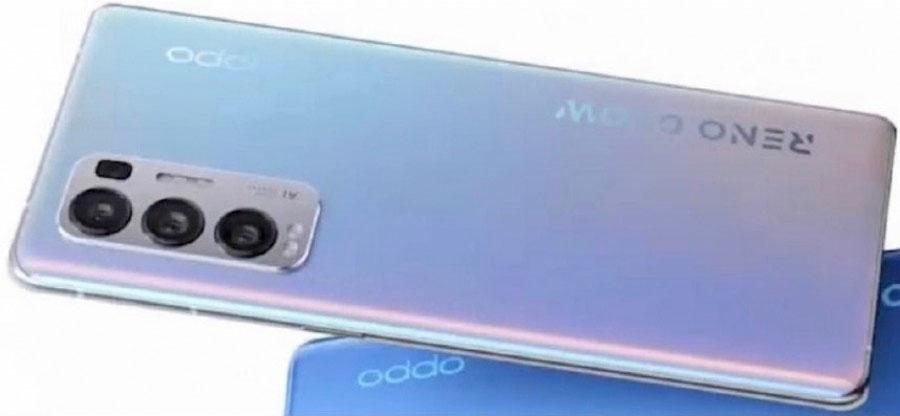 گوشی اوپو Reno5 Pro+ 5G با اسنپدراگون ۸۶۵ و سونی IMX7xx ارایه خواهد شد