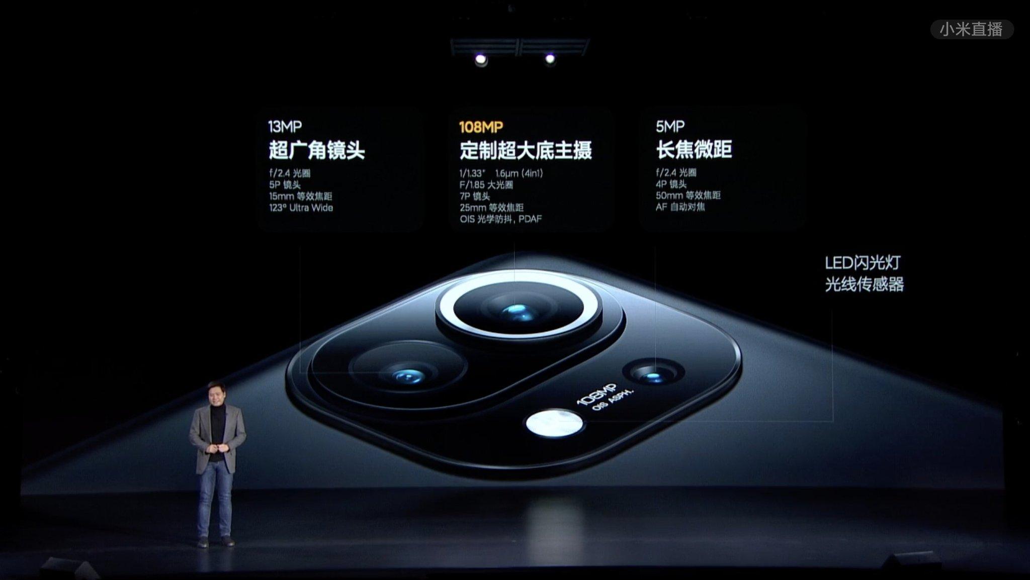 دوربین شیائومی Mi 11