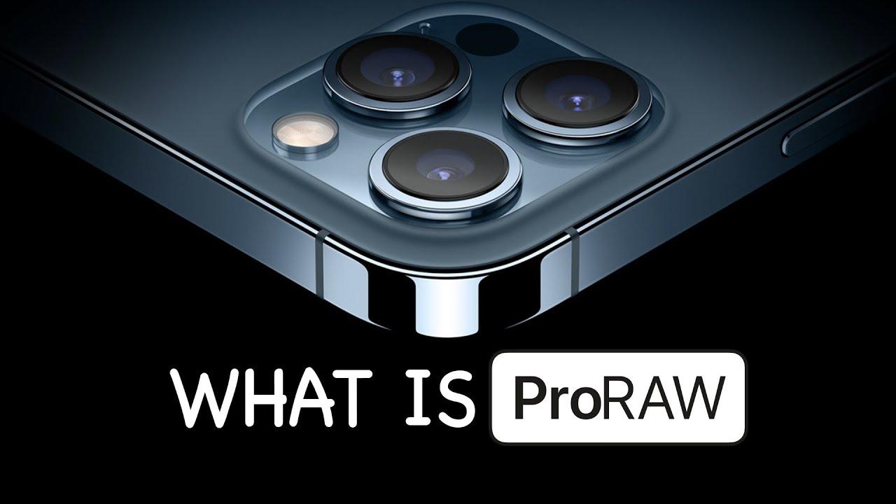 اپل proraw چیست؟