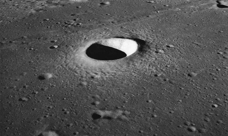 استفاده از هوش مصنوعی برای شمارش و موقعیت یابی حفره های ماه _ بیش از 100 هزار حفره در ماه