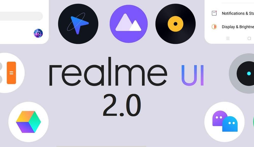 رابط کاربری Realme UI 2.0