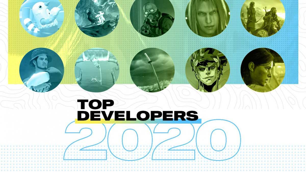 10 تا از بهترین سازندگان بازی در سال 2020 (Top 10 Developers)