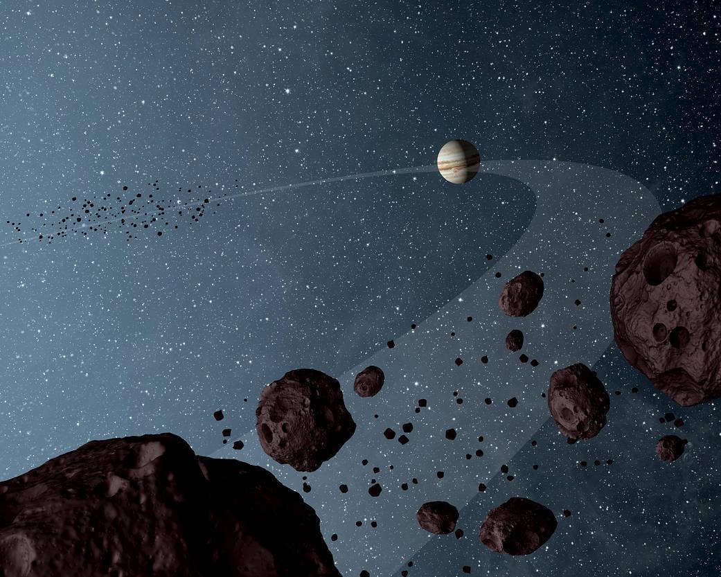 ماموریت لوسی ناسا برای مطالعه سیارک های تروجان