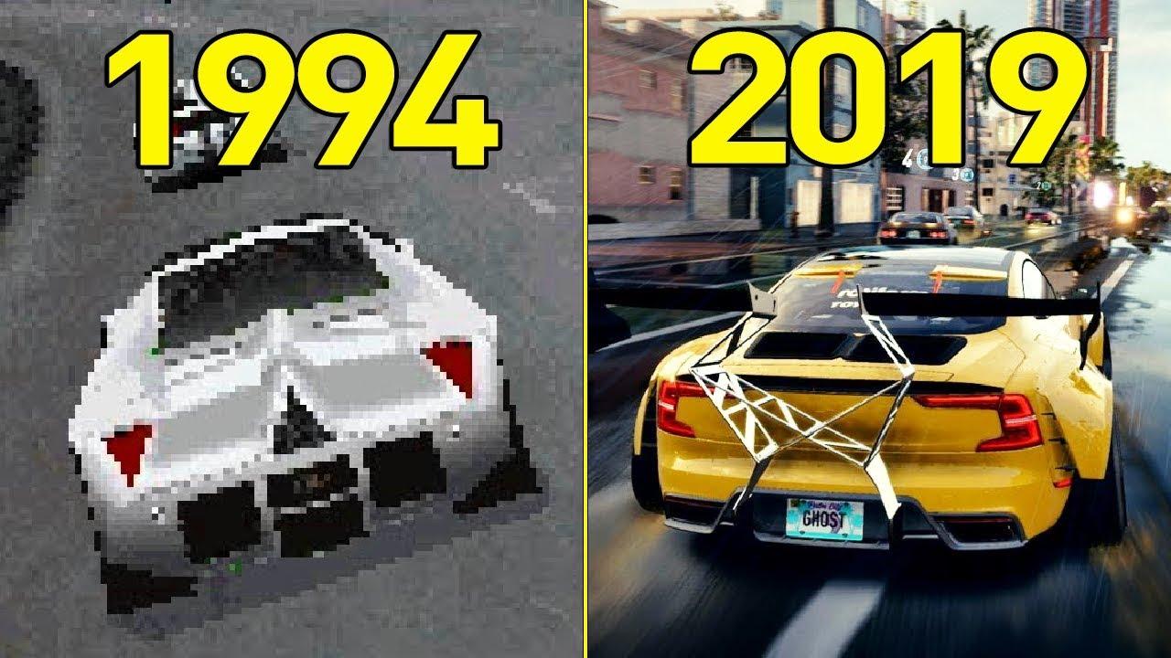بازی Need for Speed از اولین نسخه تا Heat