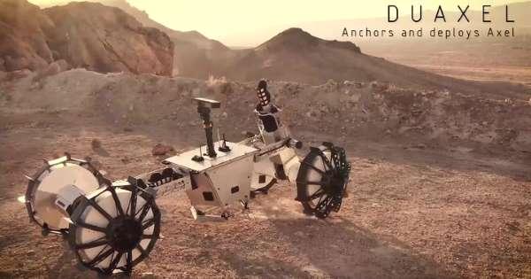 مریخ نورد متحول کننده ناسا(DuAxle) می تواند به مکان هایی برود که دیگران فقط می توانند آرزو کنند