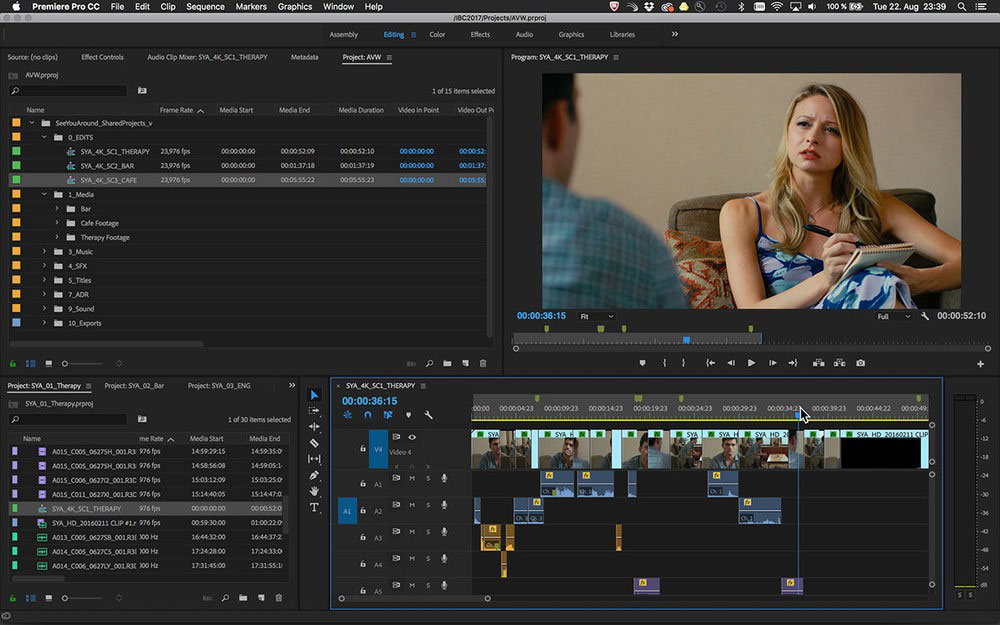 نرمافزار Adobe Premiere Pro