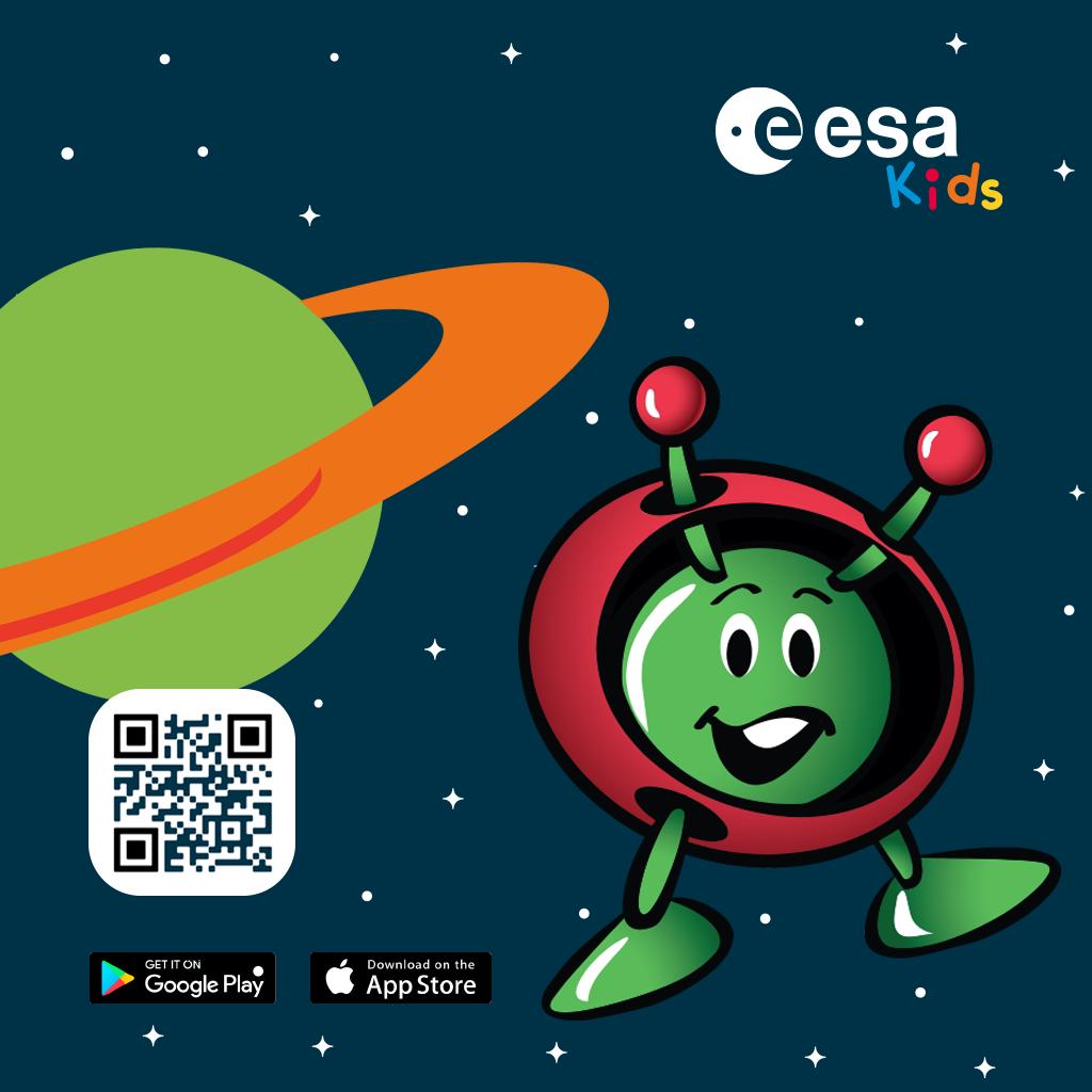 برنامه ESA Kids سازمان فضایی اروپا برای کودکان منتشر شد