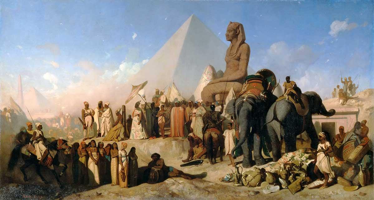 جنگ ایران و مصر در پلوزیوم : اولین استفاده گسترده از جنگ روانی در یک نبرد
