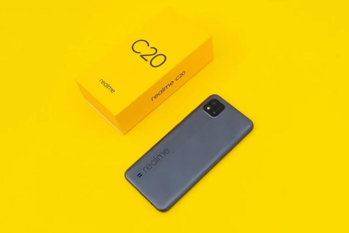 گوشی ارزان Realme C20 با مدیاتک Helio G35 رسما معرفی شد