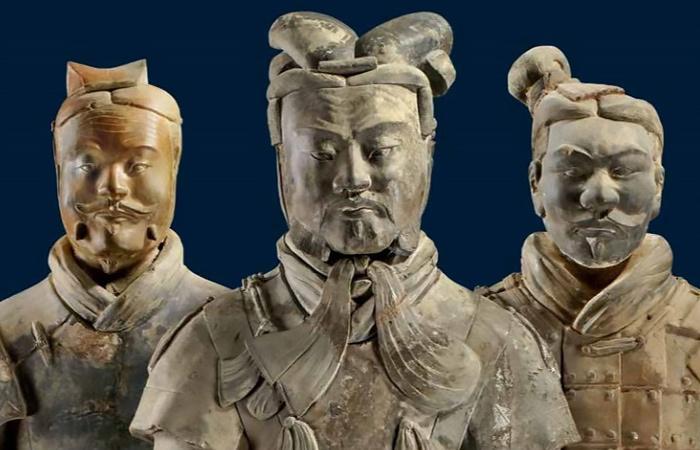 جنگجویان لشکر سفالی