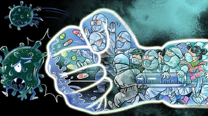 مبارزه با ویروس کرونا