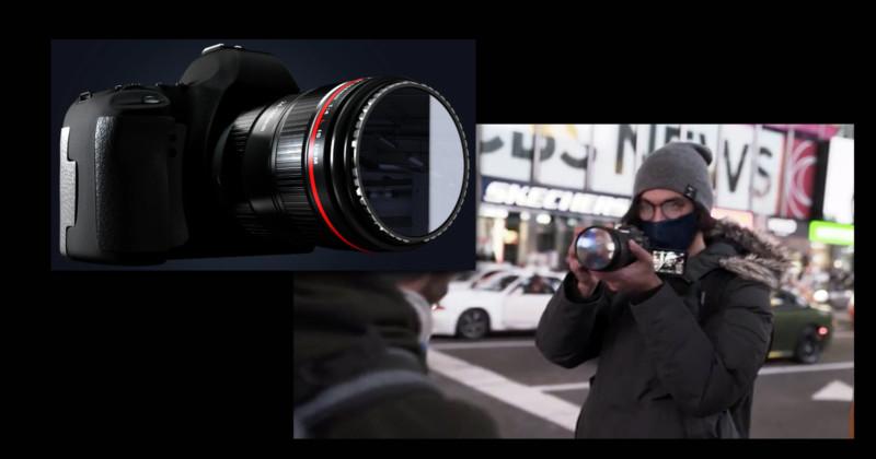 با فیلتر آینه ای با خیال راحت خود را در لنز دوربین ببینید