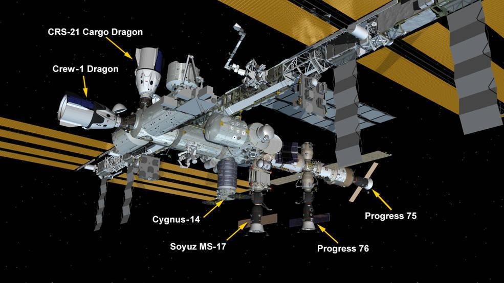سال نو زیست شناسی فضایی و استفاده از فضاپیما های باری ایالات متحده را به ارمغان می آورد