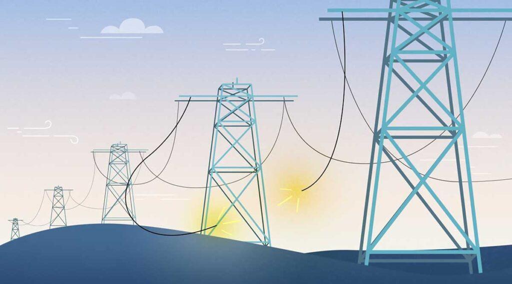 قطعی برق تهران سه شنبه ۲۳ دی ۹۹ (تصویر تزئینی است)