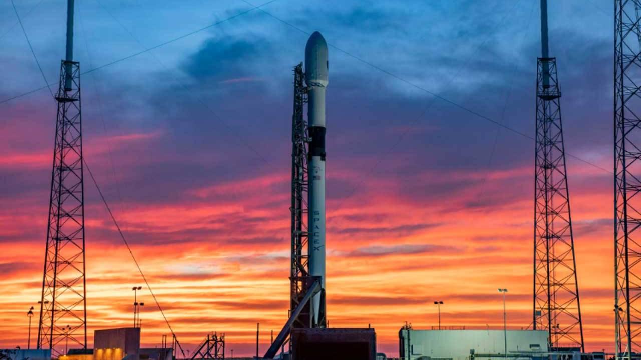 SpaceX مجدداً اقدام به پرتاب موشک Falcon 9 کرد