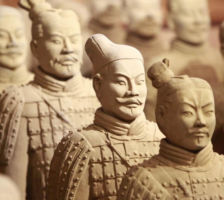 لشکر سفالی چین