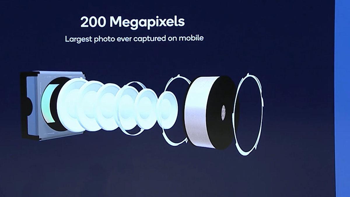 حسگر تصویر ۲۰۰ مگاپیکسلی