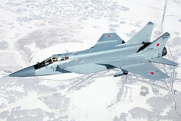 ده جنگنده گران قیمت جهان - MiG-31