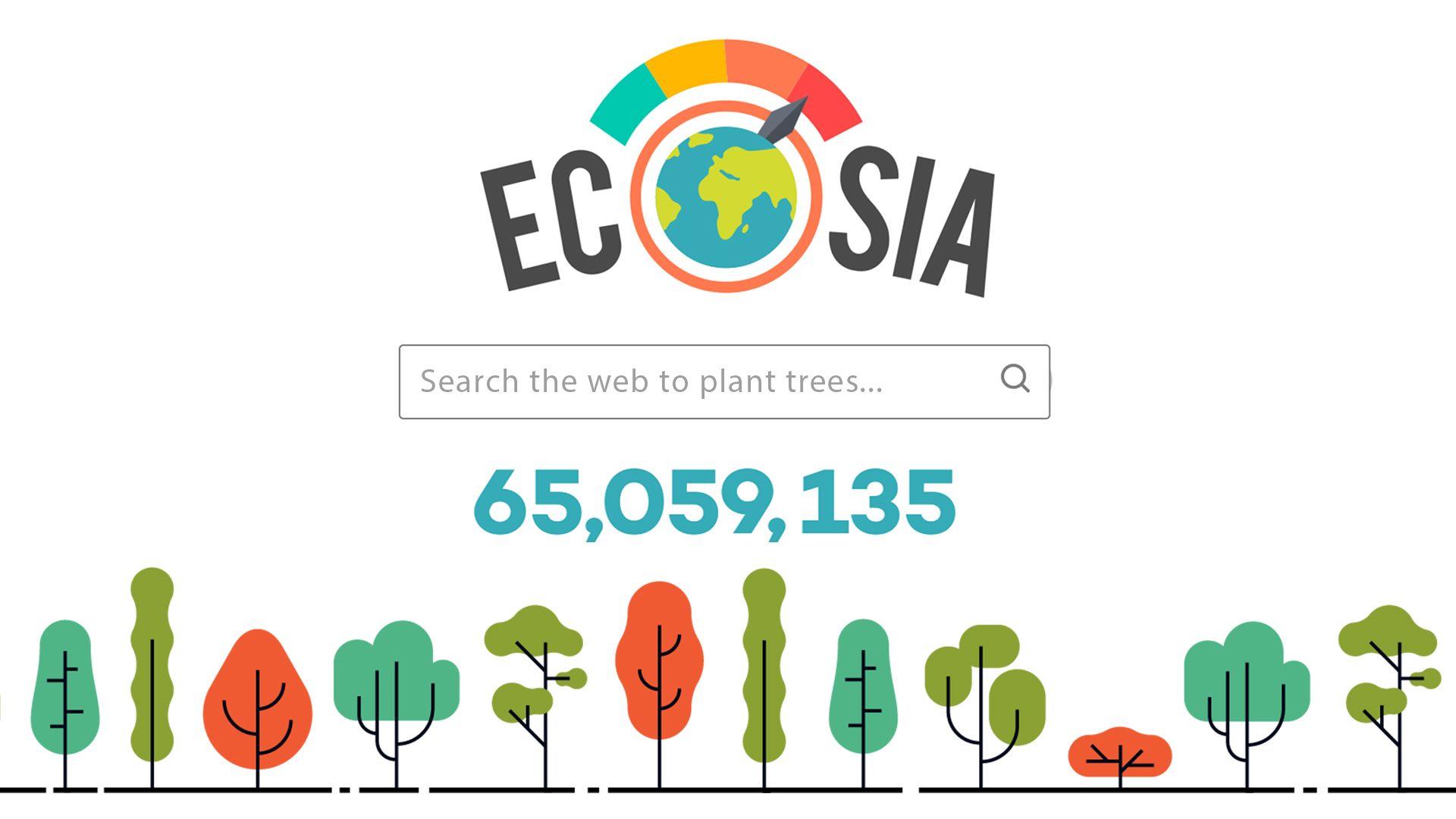 موتور جستجوی Ecosia