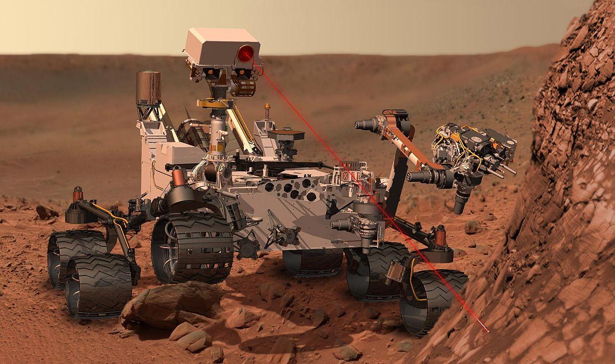 فیلم فرود مریخ نورد