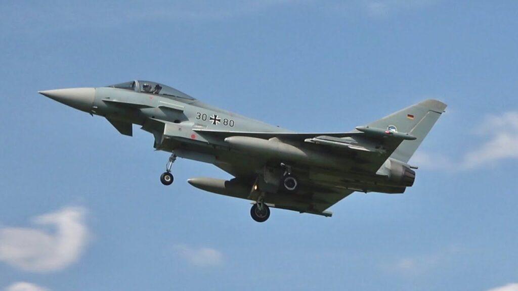 ده جنگنده گران قیمت جهان - Eurofighter