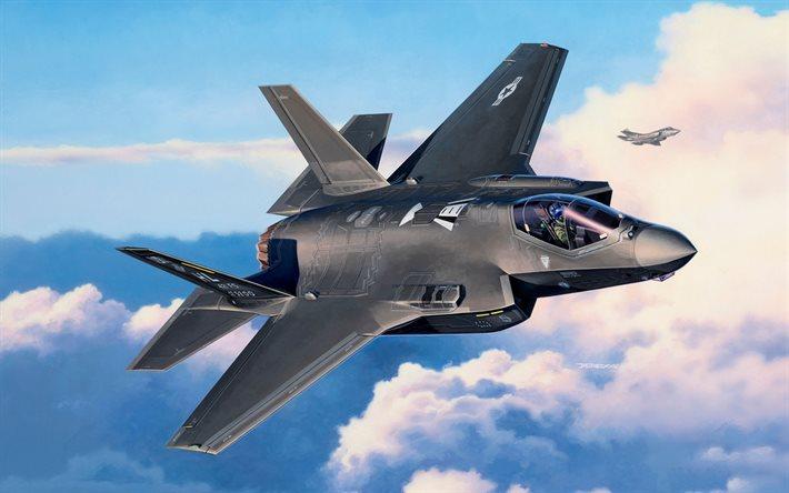 ده جنگنده گران قیمت جهان - F-35