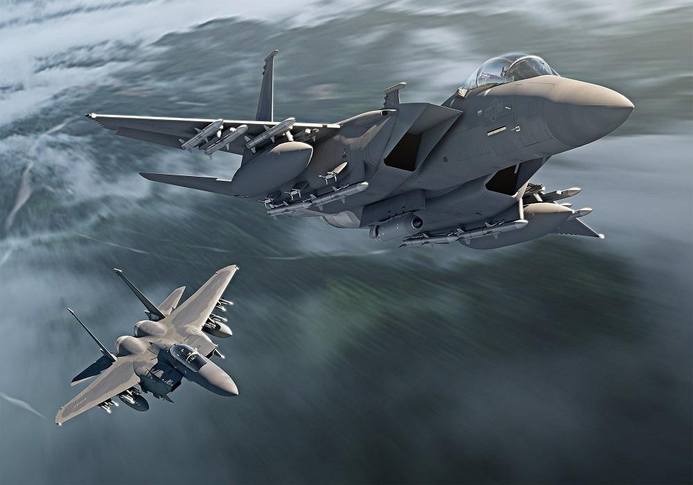 جنگنده آمریکایی F-15