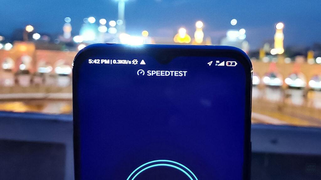 اتصال شبکه 5G همراه اول روی شیائومی می ۱۰ لایت