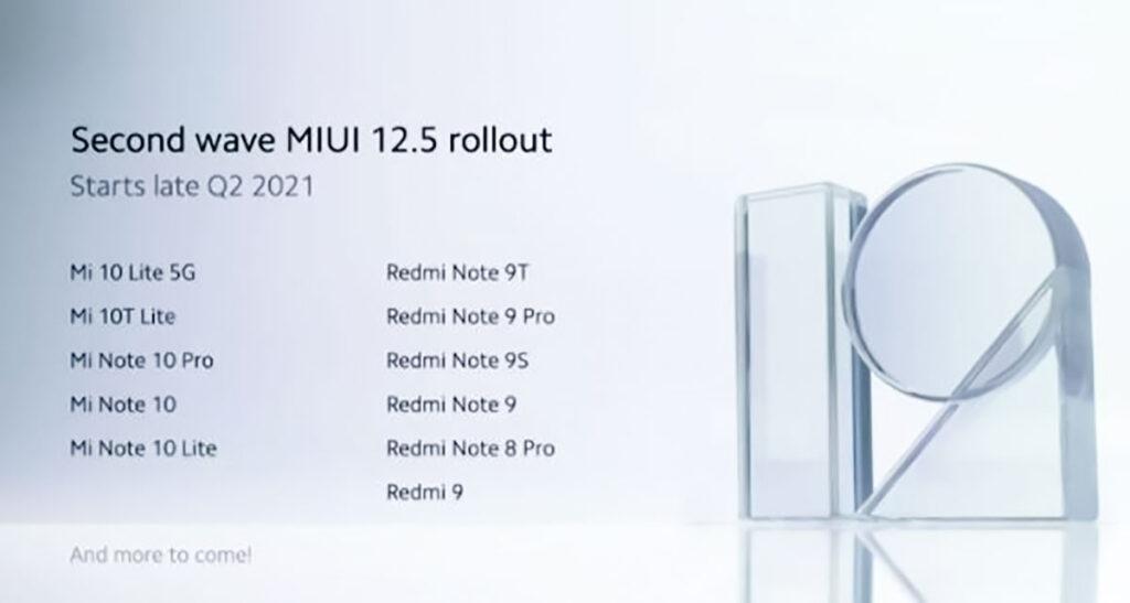 لیست دستگاه هایی که آپدیت MIUI 12.5