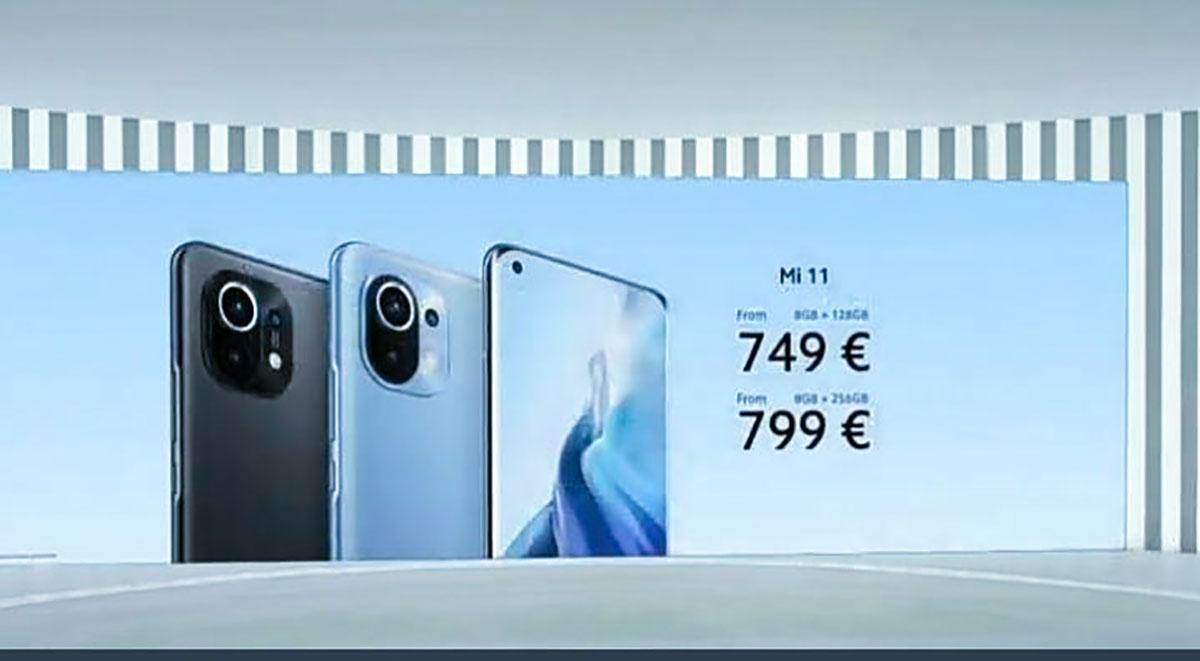 شیائومی Mi 11 به صورت جهانی رونمایی شد: قیمت ۷۴۹ یورو