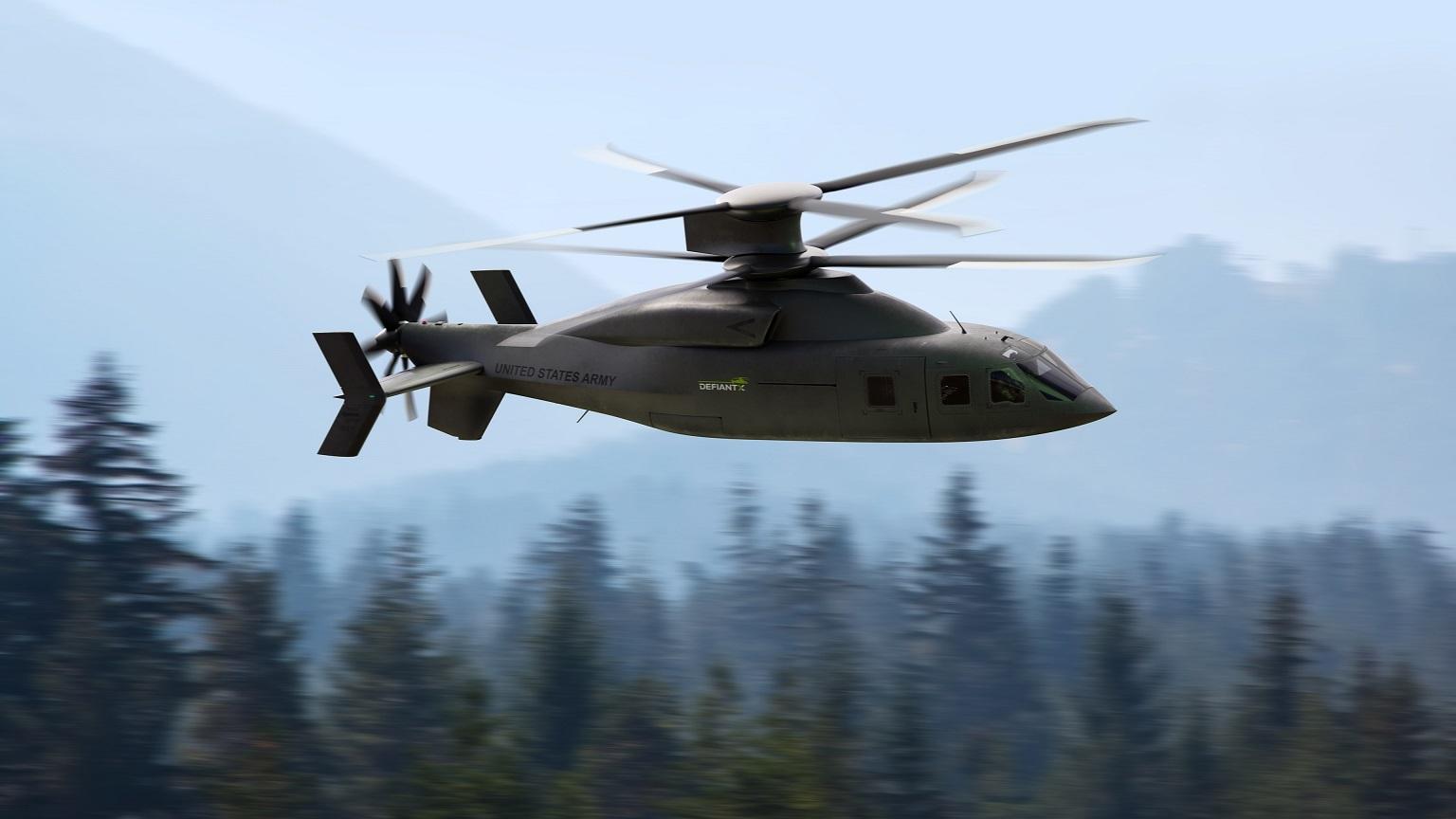 هلیکوپتر Defiant X