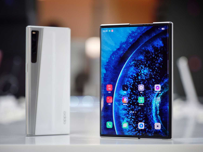 گوشی رول شونده Oppo X 2021 فوق العاده است