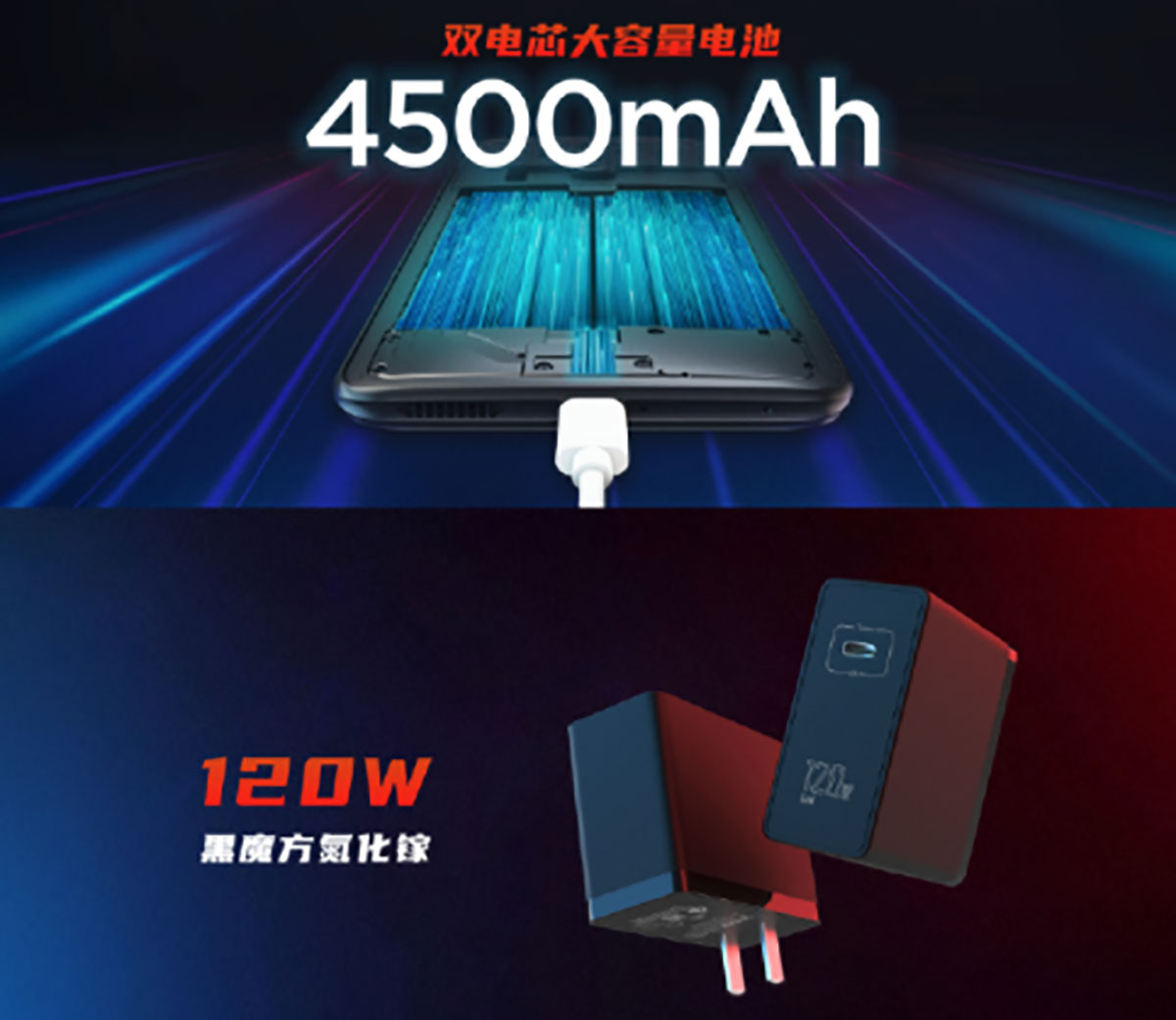 باتری Red Magic 6 Pro و فناوری شارژ سریع لو رفت