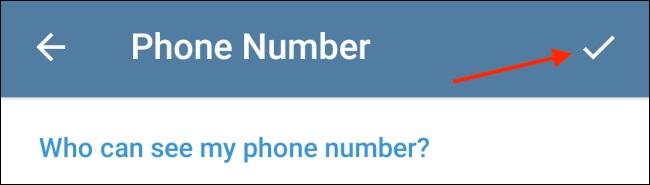 پنهان کردن شماره تلفن در تلگرام