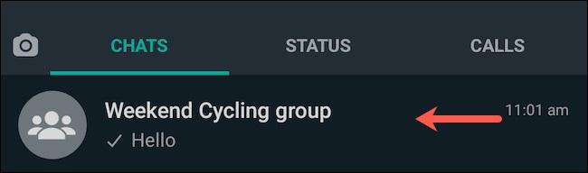 لغو دسترسی اعضای گروه برای تغییر جزئیات گروه واتساپ