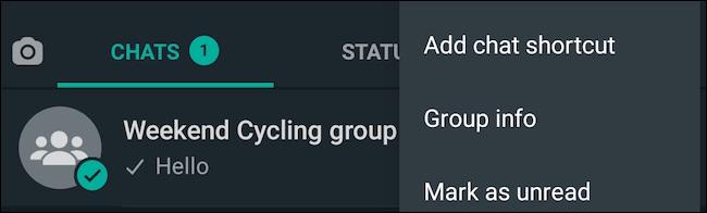 لغو دسترسی اعضای گروه واتساپ برای تغییر جزئیات گروه