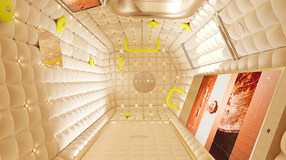 تصویر مفهومی از هتل ایستگاه بین المللی فضایی