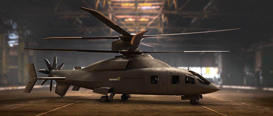 هلیکوپتر Defiant X ، هیولایی از آینده