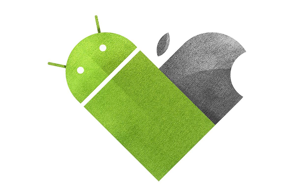 مقایسه کاربران iOS و اندروید