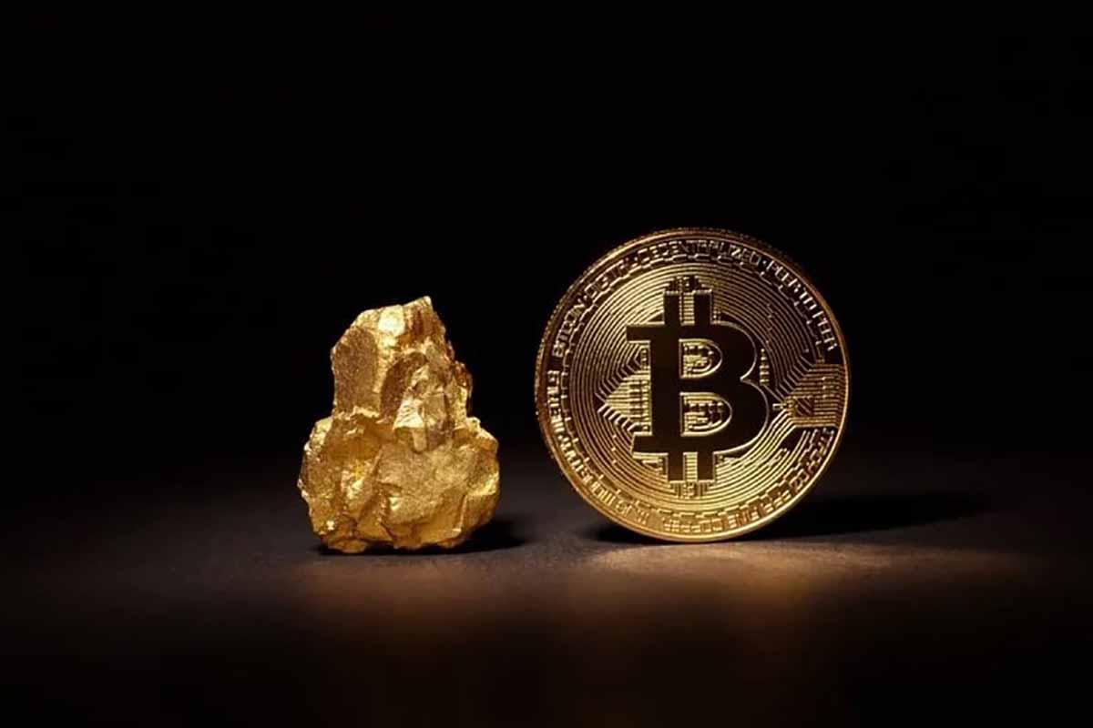 ارزش بازار بیت کوین به ارزش بازار طلا، نقره و اپل نزدیک تر شده است