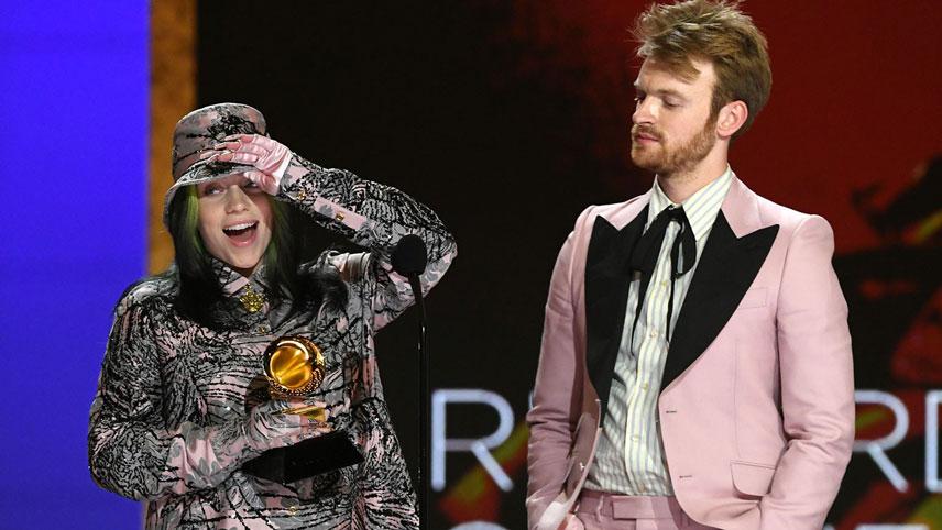 بیلی آیلیش از برندگان جایزه گرمی ۲۰۲۱