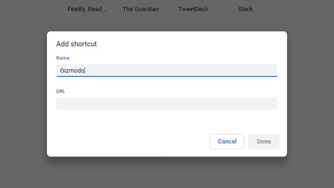 هشتمین ترفند گوگل کروم ، شخصی سازی میانبر های صفحه تب جدید