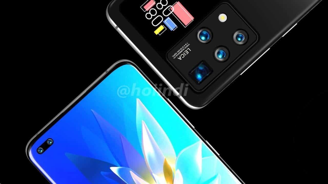 گوشی هواوی با دو نمایشگر