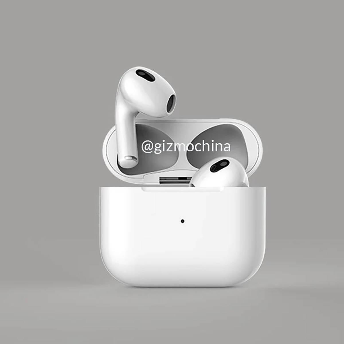 هندزفری AirPods 3 اپل را قبل از معرفی رسمی ببینید