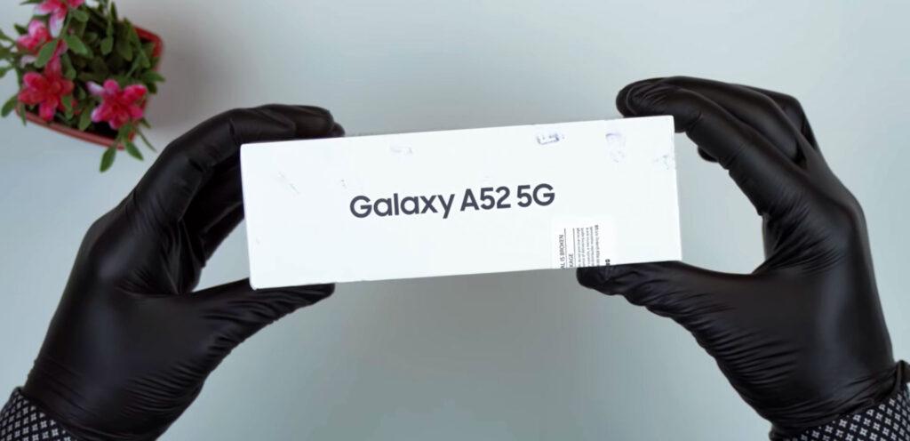 آنباکسینگ گلکسی A52 5G